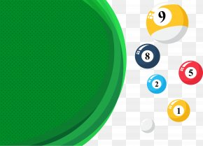 Green Billiards Table - Green Billiards Billiard Table PNG