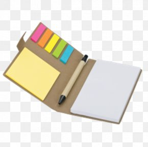 Notebook - Post-it Note Paper Notebook Pen Recycling PNG