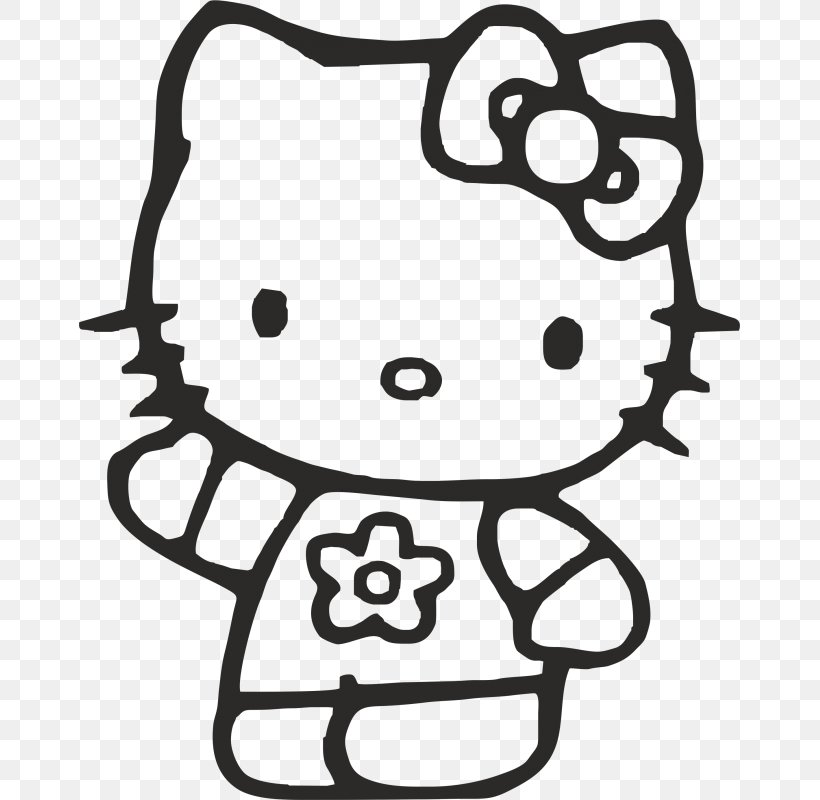 Hello Kitty Coloring Book Colouring Pages Christmas Coloring Pages Drawing,  PNG, 800x800px, Hello Kitty, Adult, Black