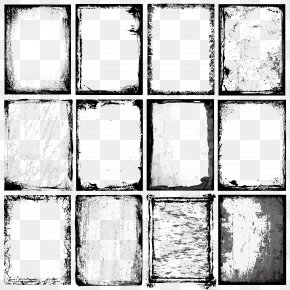 Ink Border Vector Element - Picture Frame Royalty-free Illustration PNG