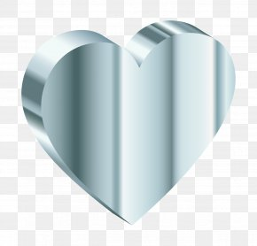Silver - Silver Heart Gold Clip Art PNG
