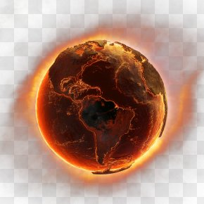 Earth Fire HD - Earth's Location In The Universe Flame Solar System Planet PNG