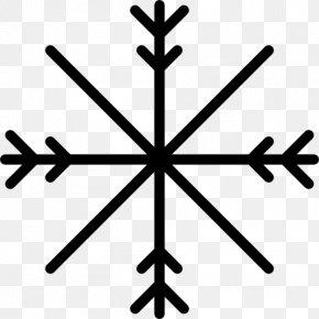 Light - Light Snowflake Shape PNG