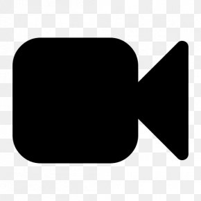 Video Recorder Photo - Video Black And White Button Icon PNG