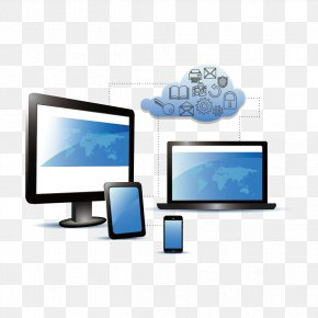Computers And Mobile Phones - Laptop Cloud Computing PNG