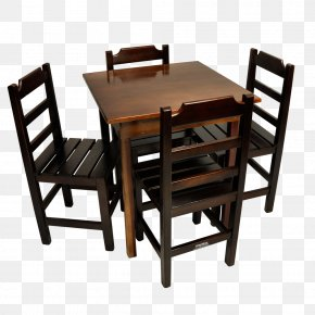 Table - Table Chair Furniture Dining Room Wood PNG