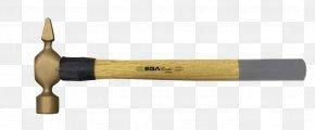 Cross And Axe - Ball-peen Hammer Hand Tool Beryllium Copper Bronze PNG