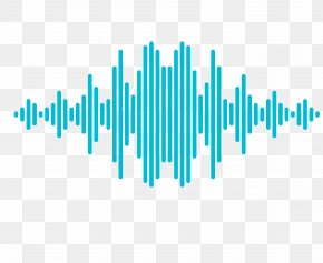 Vector Rectangular Sound Wave Curve Picture - Sound Wave Icon PNG