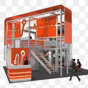 Exhibtion Stand - Exhibition Exhibit Design Instore Design 3D Computer Graphics PNG