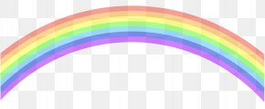 Hd Rainbow Cliparts - Rainbow Sky Clip Art PNG