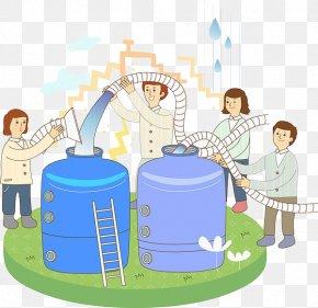 Transport Water - Water Storage Water Tank Cleaning Storage Tank PNG