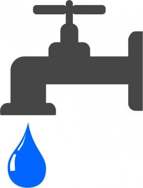 Drip Cliparts - Tap Water Tap Water Drinking Water Clip Art PNG