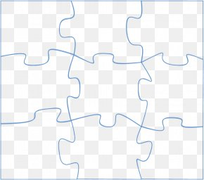 Large Puzzle Piece Template - Area Pattern PNG