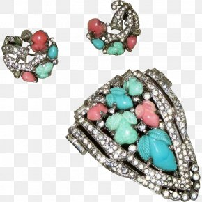 Norway Luminous Vintage Jewelry - Earring Turquoise Jewellery Costume Jewelry Clothing PNG