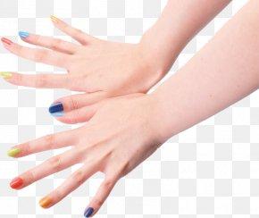 Hand Nail Polish - Sunscreen Hand Nail Polish Digit PNG