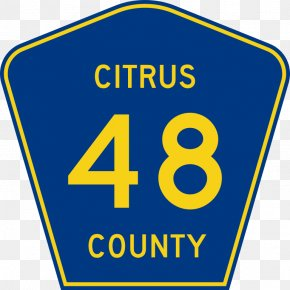 Citrus - Florida U.S. Route 66 US County Highway Road PNG