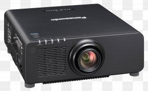 Home Cinema Projector - Panasonic Laser Projector Digital Light Processing Home Cinema PNG