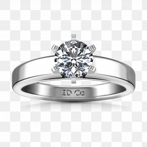 Engagement Ring - Engagement Ring Jewellery Solitaire Diamond PNG