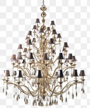 Chinese And Western Combined Crystal Lamp - Chandelier Lamp China Icon PNG
