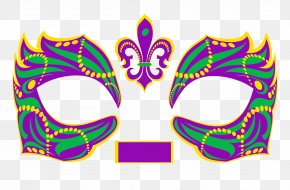Mask - Masquerade Ball Mardi Gras In New Orleans Mask Costume PNG