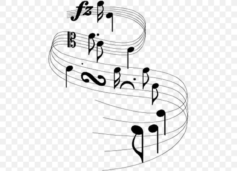 Musical Note Staff Musical Notation Musical Theatre, PNG, 486x592px, Watercolor, Cartoon, Flower, Frame, Heart Download Free