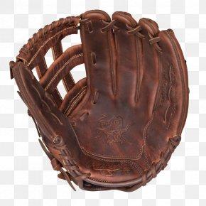 Baseball Glove - Baseball Glove Leather Brown PNG
