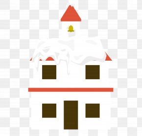Vector Church Building Roof Snow - Roof Building Snow PNG