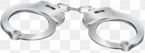 Handcuffs Transparent Clip Art - Clip Art PNG