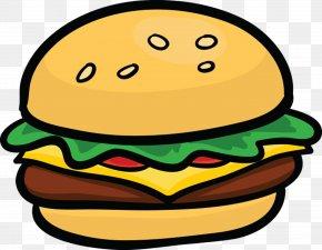 Junk Food - Hamburger Cheeseburger Fast Food Clip Art PNG