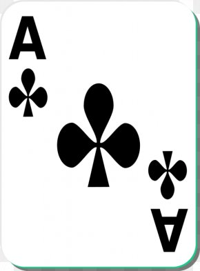 Deck Of Cards Clipart - Playing Card Ace Of Spades Clip Art PNG