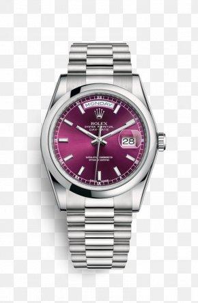 Rolex - Rolex Datejust Rolex Daytona Rolex Oyster Perpetual Day-Date Watch PNG