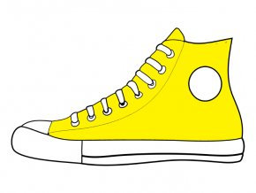 Outdoor Cat Cliparts - Pete The Cat Shoe Sneakers Clip Art PNG