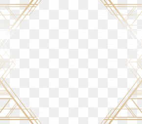 Vector Painted Gold Frame - Shading Euclidean Vector Line PNG