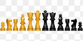 Chess Piece - Chess Piece Draughts Chessboard Clip Art PNG