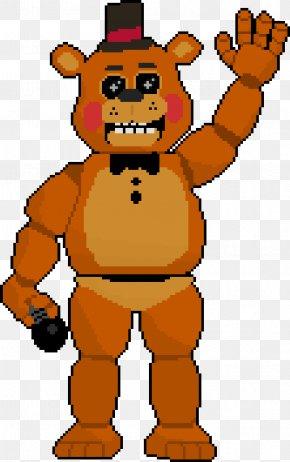 Toy Freddy Pixel Art - Pixel Art Five Nights At Freddy's DeviantArt PNG