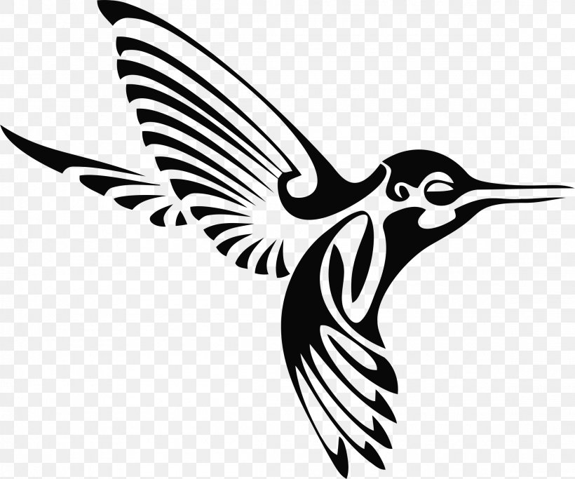 Hummingbird Silhouette Drawing Clip Art, PNG, 2310x1926px, Hummingbird, Autocad Dxf, Beak, Bird, Black And White Download Free