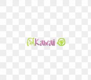 Kawaii - Logo Brand Font PNG