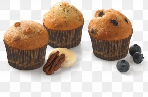 Muffin - Muffin Bakery Baking Chocolate Chip Food PNG