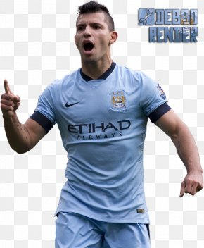 Sergio Aguero - Sergio Agüero Manchester City F.C. Argentina National Football Team Football Player Jersey PNG