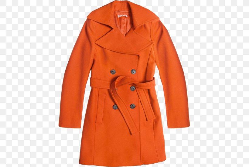 Trench Coat Overcoat, PNG, 507x550px, Trench Coat, Coat, Day Dress, Orange, Overcoat Download Free