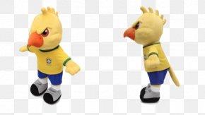 Canarinho Pistola - Brazil National Football Team 2018 World Cup 2014 FIFA World Cup Canarinho Mascot PNG