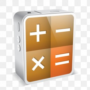 Calculator Clipart - IPhone 4 Calculator ICO Application Software Icon PNG