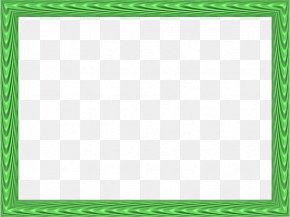 Green Border Frame HD - Board Game Square Area Green Pattern PNG