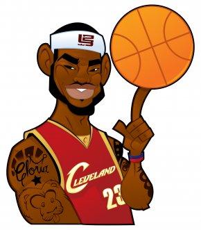 Basketball Caricature - Cartoon Adobe Illustrator Tutorial Model Sheet Illustration PNG