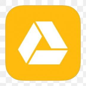 MetroUI Google Drive Alt - Triangle Area Text PNG