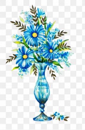 Blue Flower - Blue Flower Rose Clip Art PNG