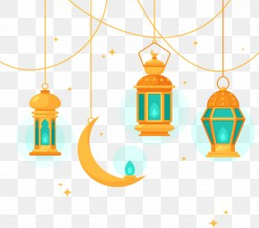 Islamic Style Chandelier - Islamic Architecture Chandelier PNG