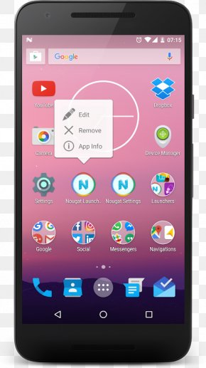 Android Nougat - Feature Phone Smartphone Mobile Phones Handheld Devices Android PNG