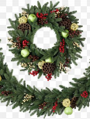 Christmas Wreath Transparent Background - Balsam Hill Artificial Christmas Tree Wreath Garland PNG