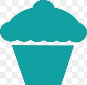 Cupcake Outline - Cupcake Muffin Birthday Cake Clip Art PNG